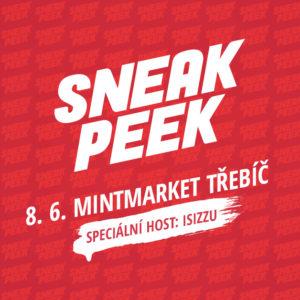 Pozvánka: SNEAK PEEK 8.6. na MintMarketu v Třebíči